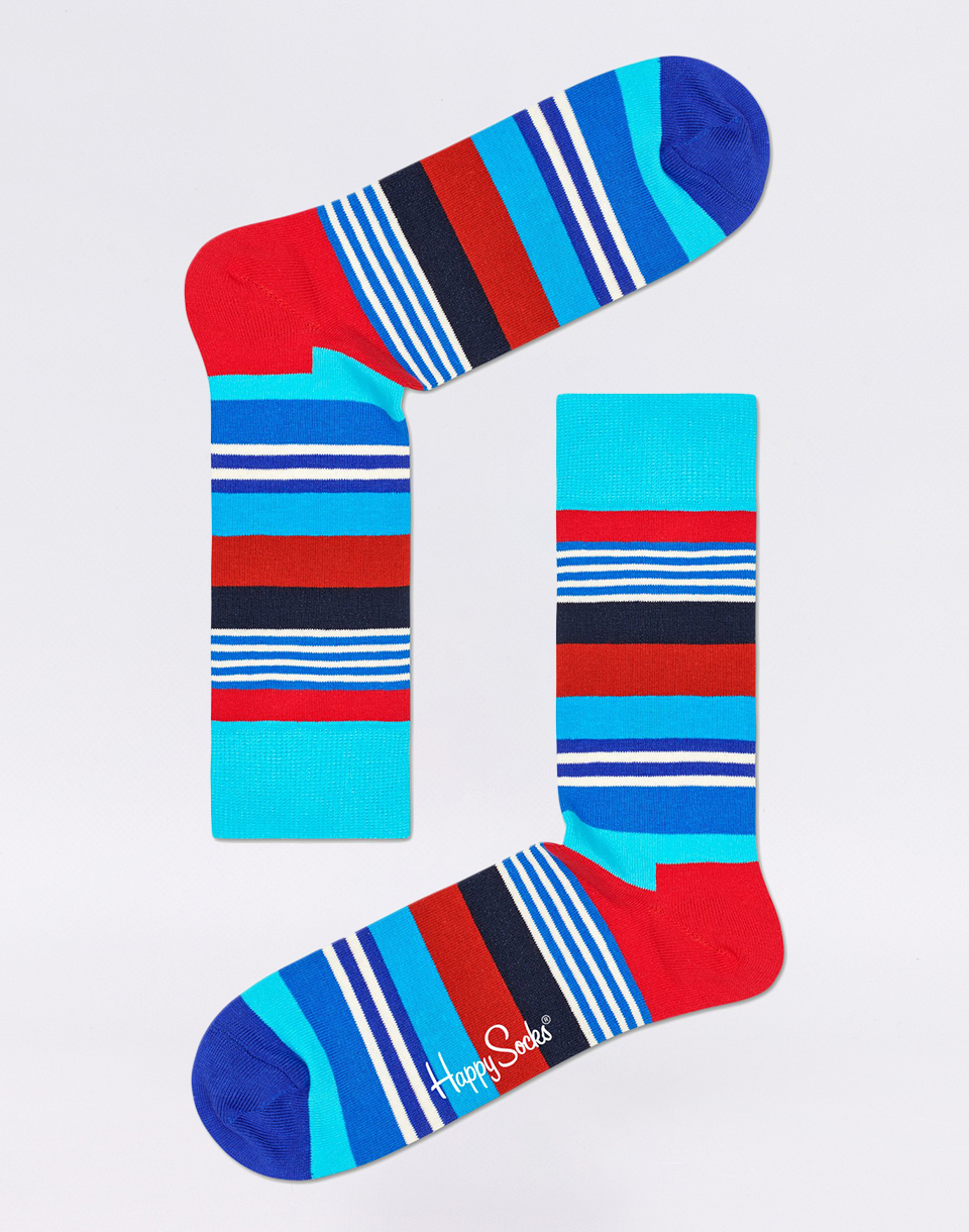 Happy Socks Multi Stripe MST01 6300 41 46