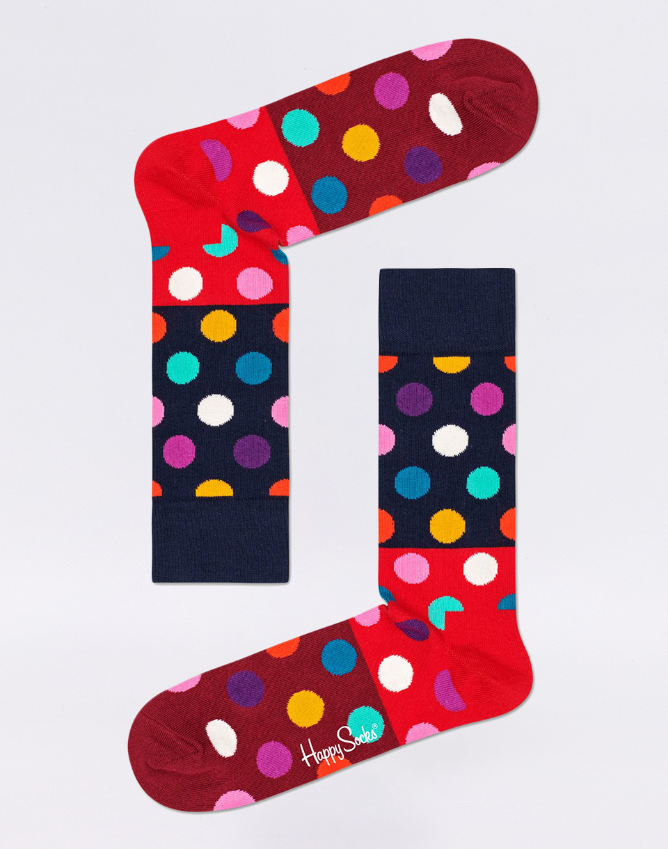 Happy Socks Big Dot Block BDB01 4300 41 46