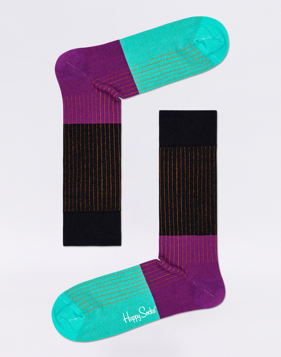 Happy Socks Block Rib BLR01 9300 41 46