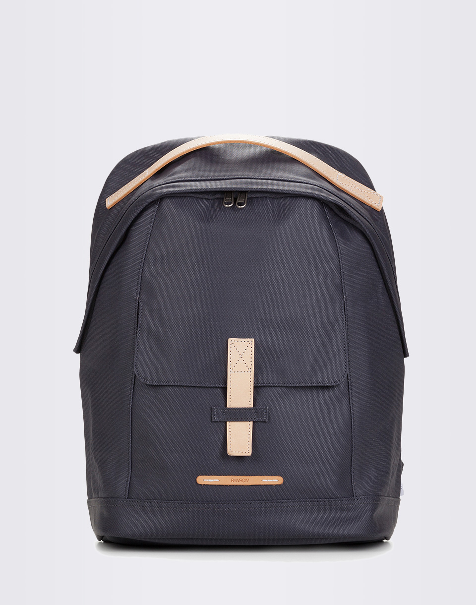 RAWROW Backpack 431 Rugged Canvas 13  Dark Navy