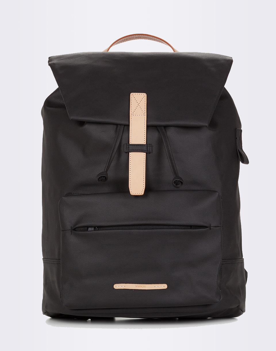 RAWROW Rucksack 512 Rugged Canvas 15 Black