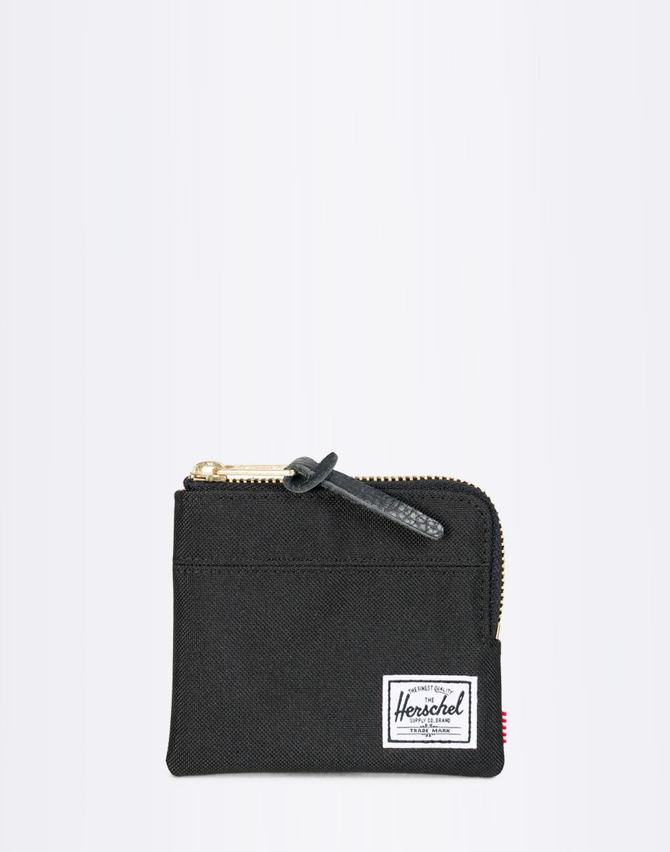 Peněženka Herschel Supply Johnny RFID Black