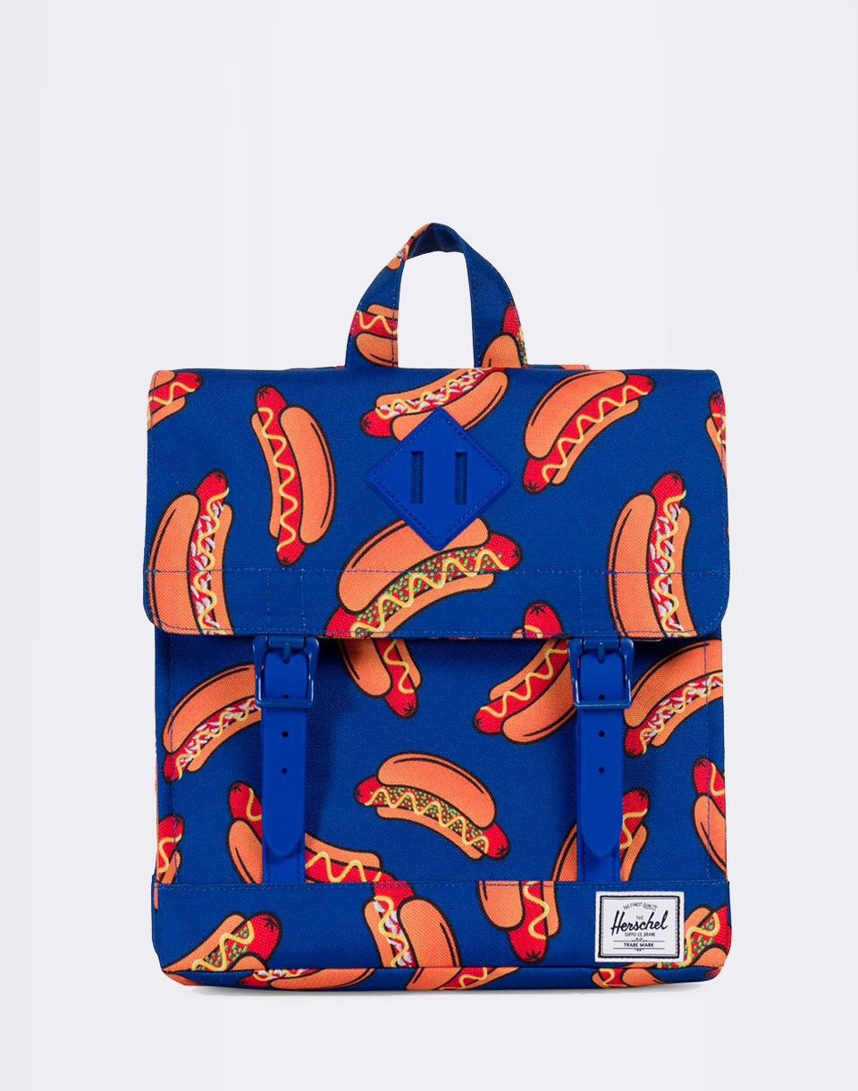 Herschel Supply Survey Kids Surf the Web Hot Dogs Surf the Web Rubber