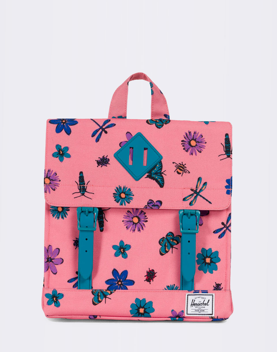 Herschel Supply Survey Kids Strawberry Ice Central Park Ocean Depths Rubber
