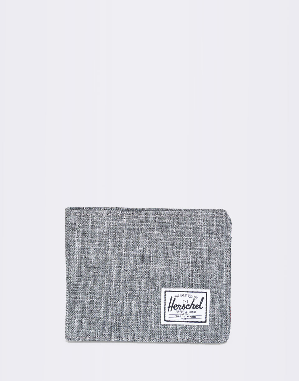 Herschel Supply Roy RFID Raven Crosshatch