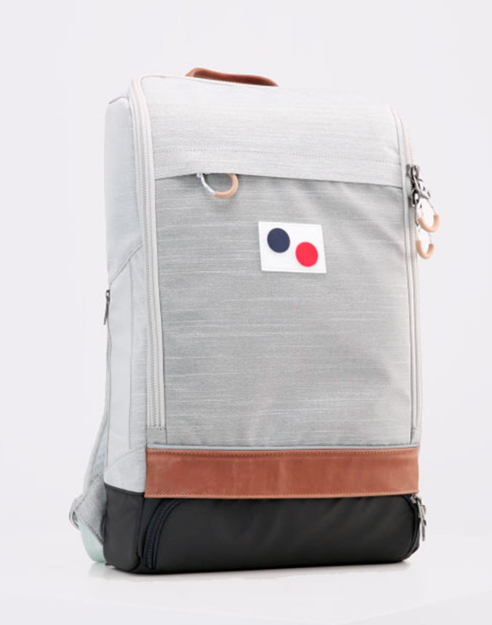 Batoh pinqponq Cubik Large Blended Grey + doprava zdarma