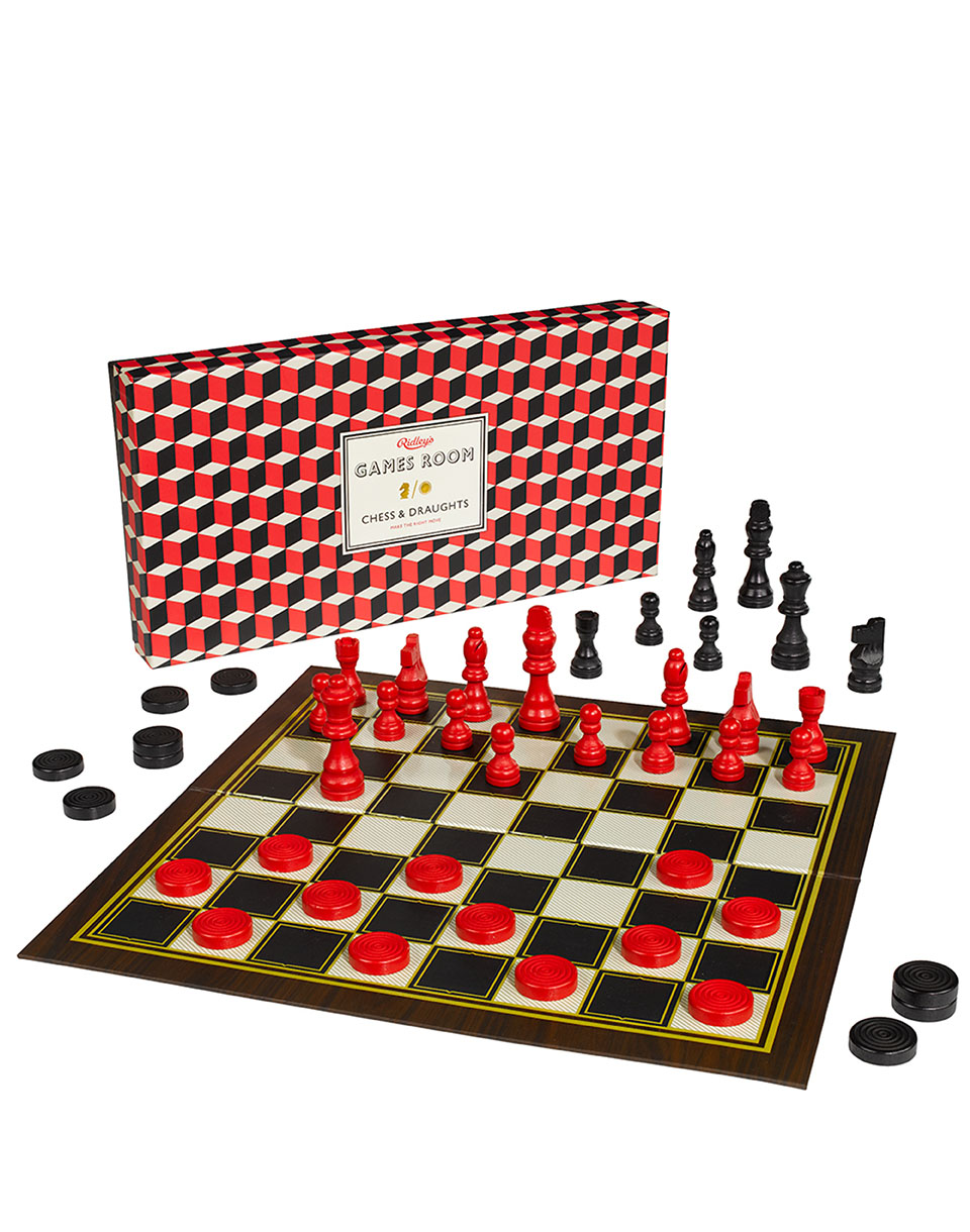 Hry W & W Chess & Checkers Set GAM003