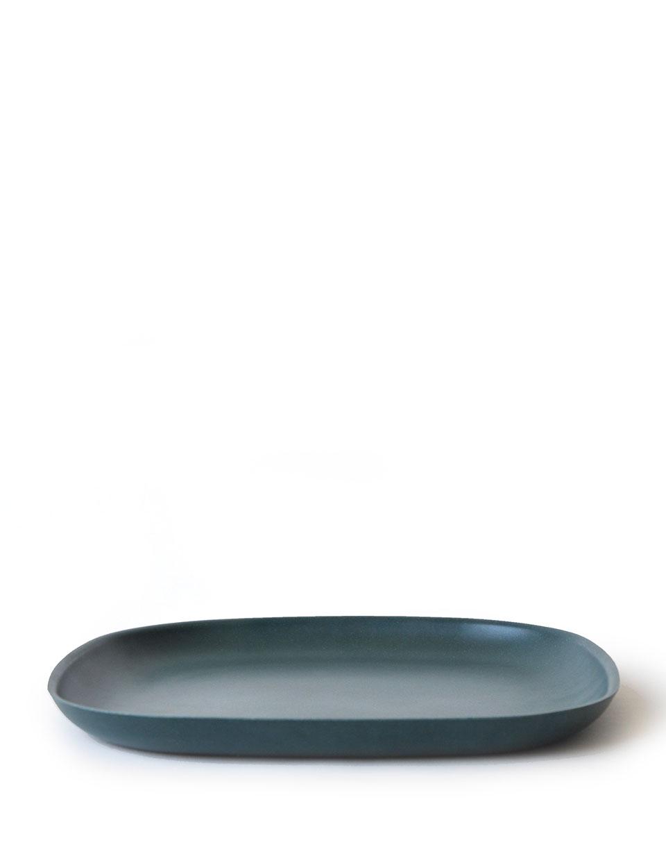 EKOBO Gusto Dinner Plate blue abyss