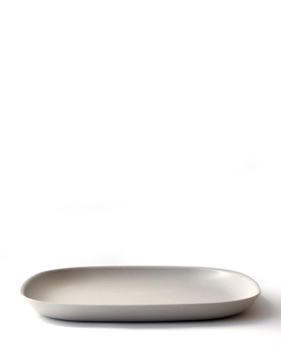 EKOBO Gusto Dinner Plate stone