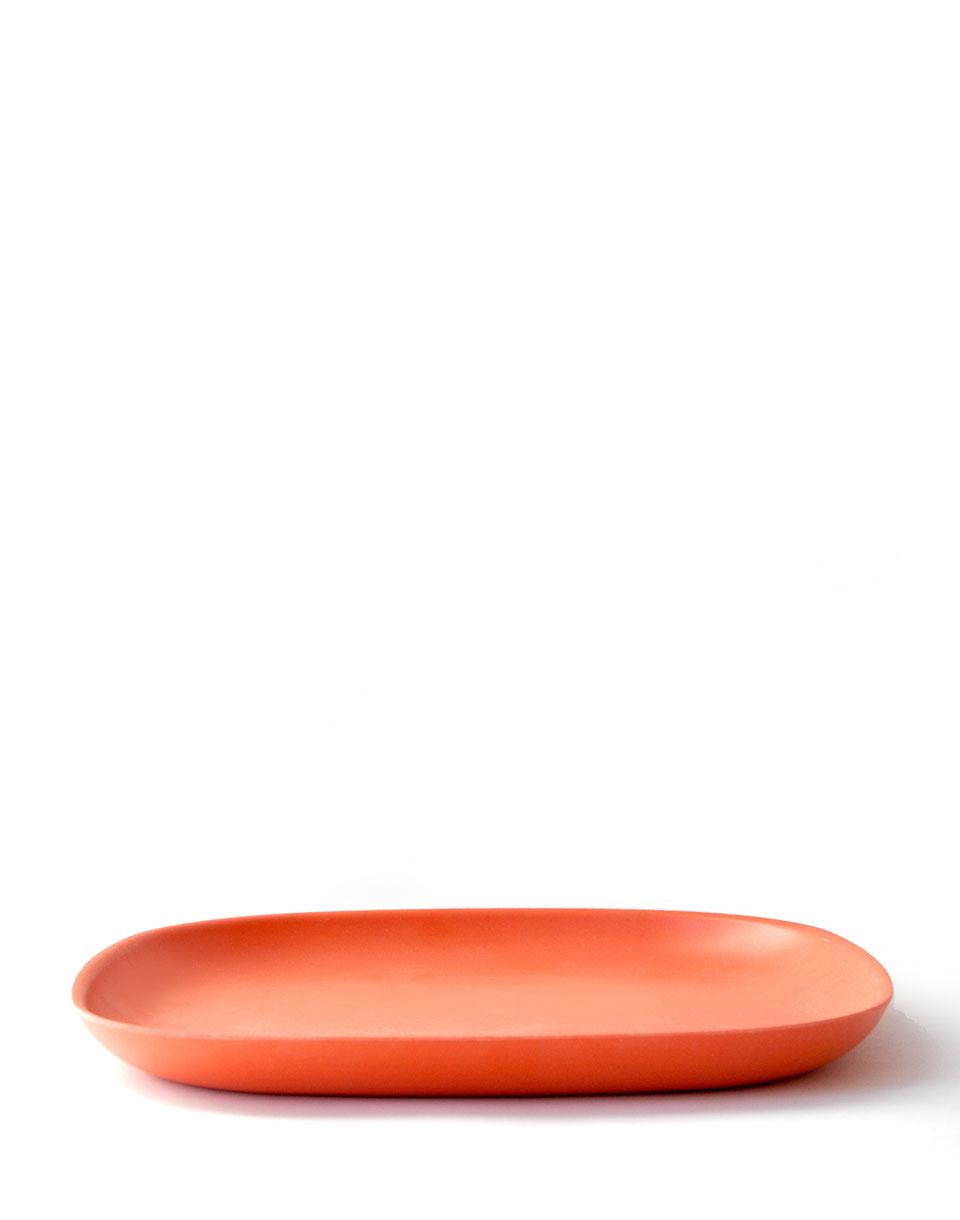 EKOBO Gusto Dinner Plate persimmon
