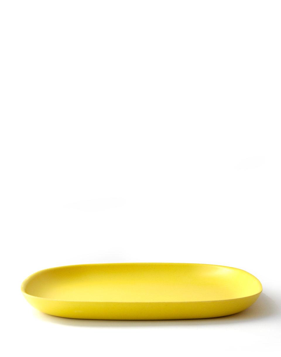 EKOBO Gusto Dinner Plate lemon