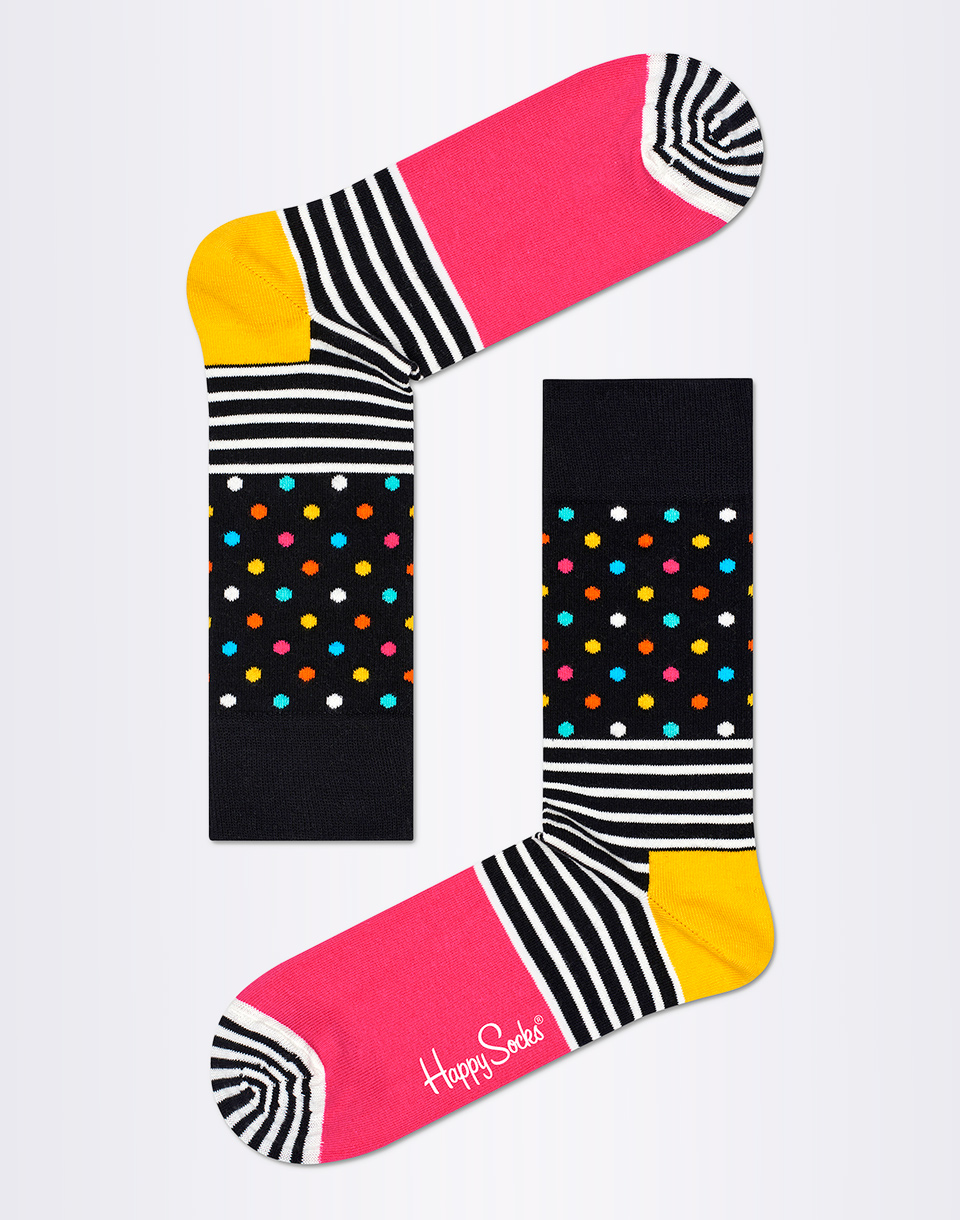 Happy Socks Stripes   Dots SDO01 9000 36 40