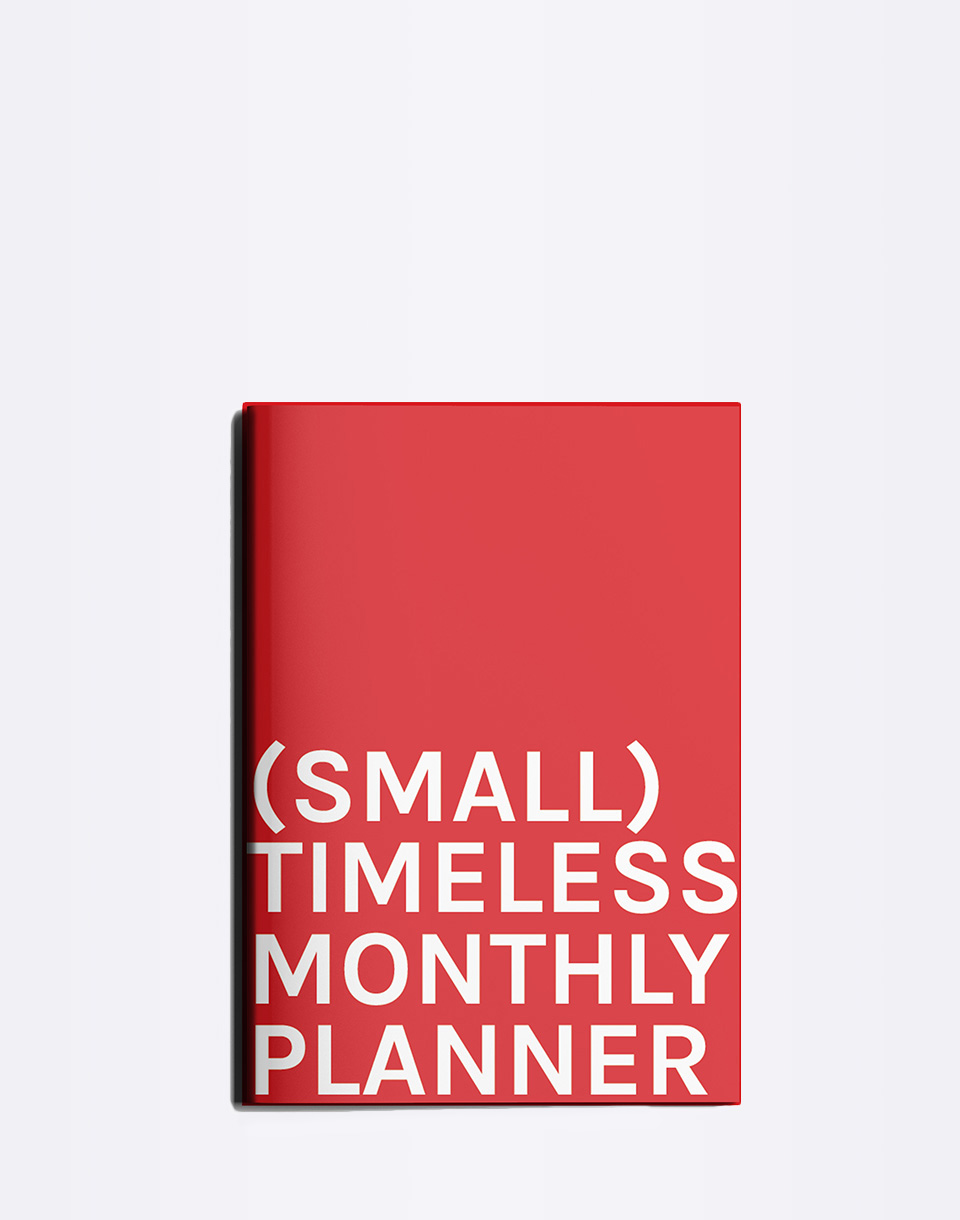 Octagon Small Timeless Monthly Planner