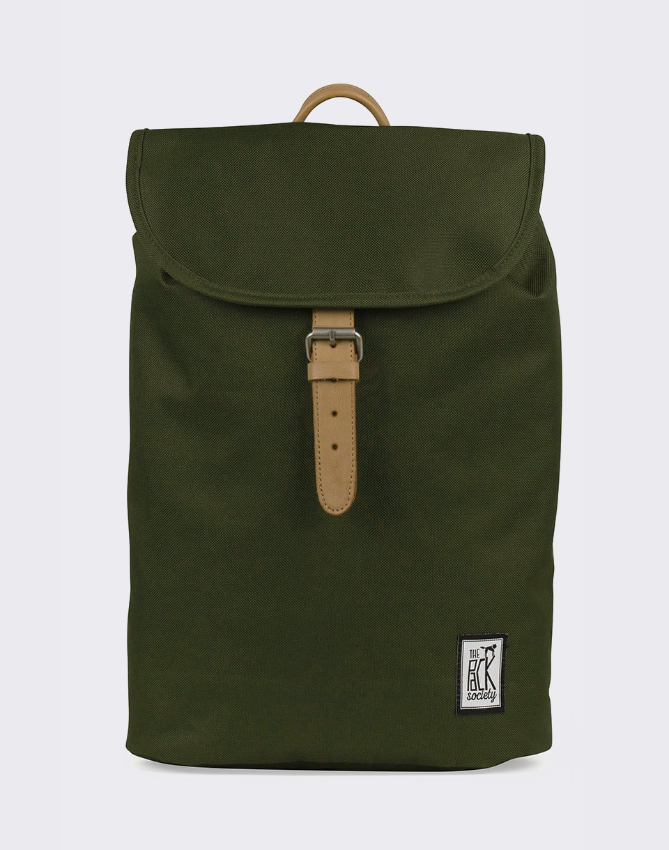 The Pack Society Small Solid Forest Green