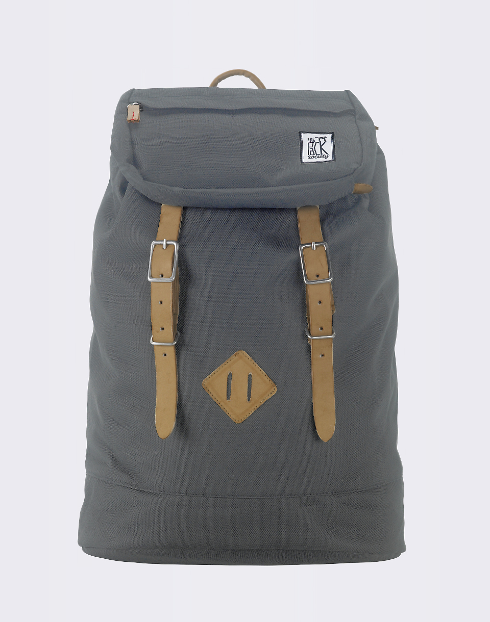The Pack Society Premium Solid Charcoal 23l