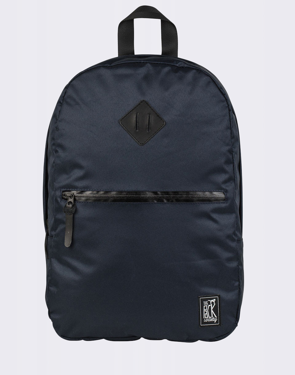 The Pack Society Backpack Solid Dark Blue