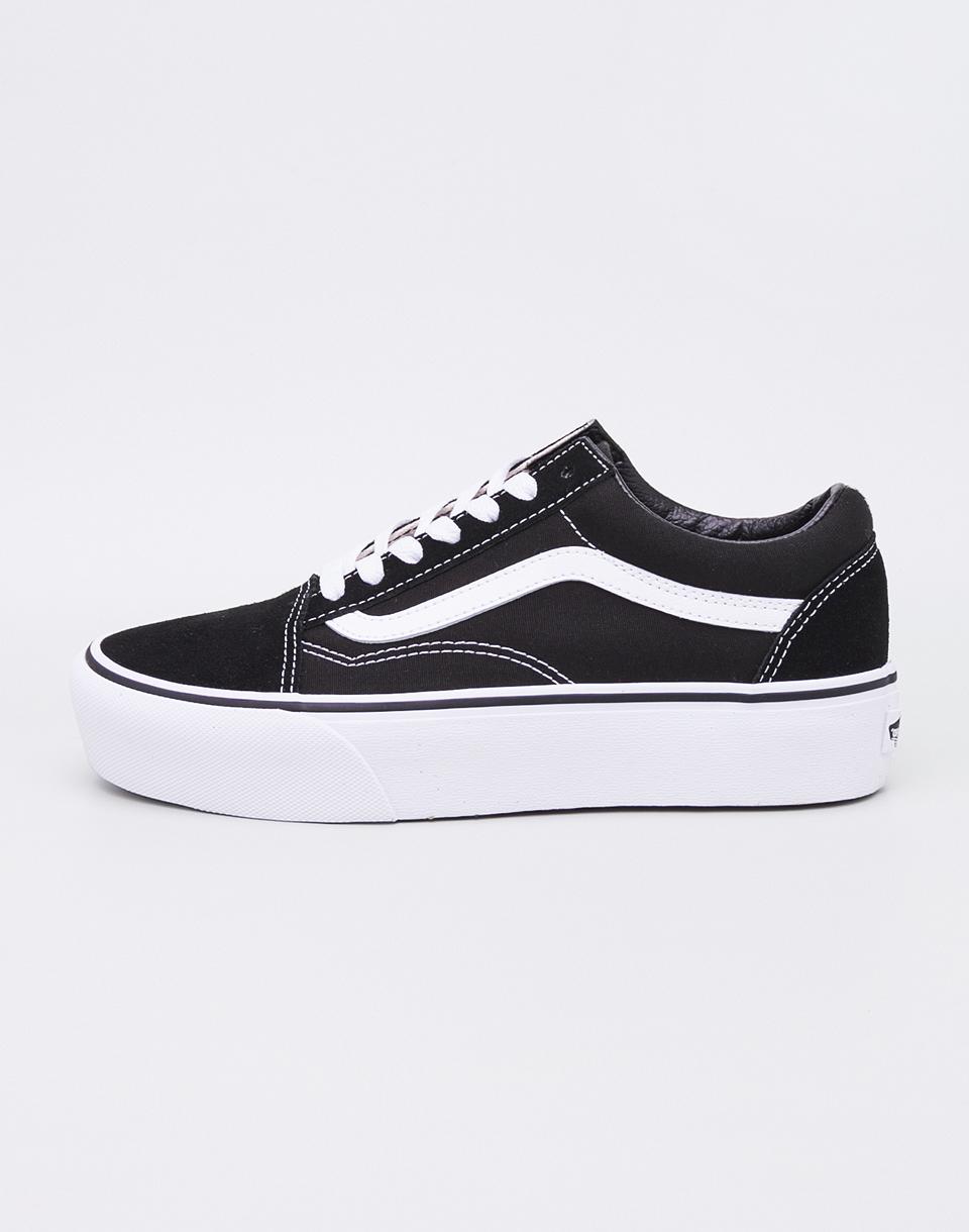Vans Old Skool Platform Black/ White 38,5