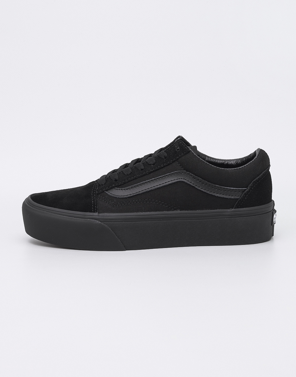 Vans Old Skool Platform Black/ Black 36