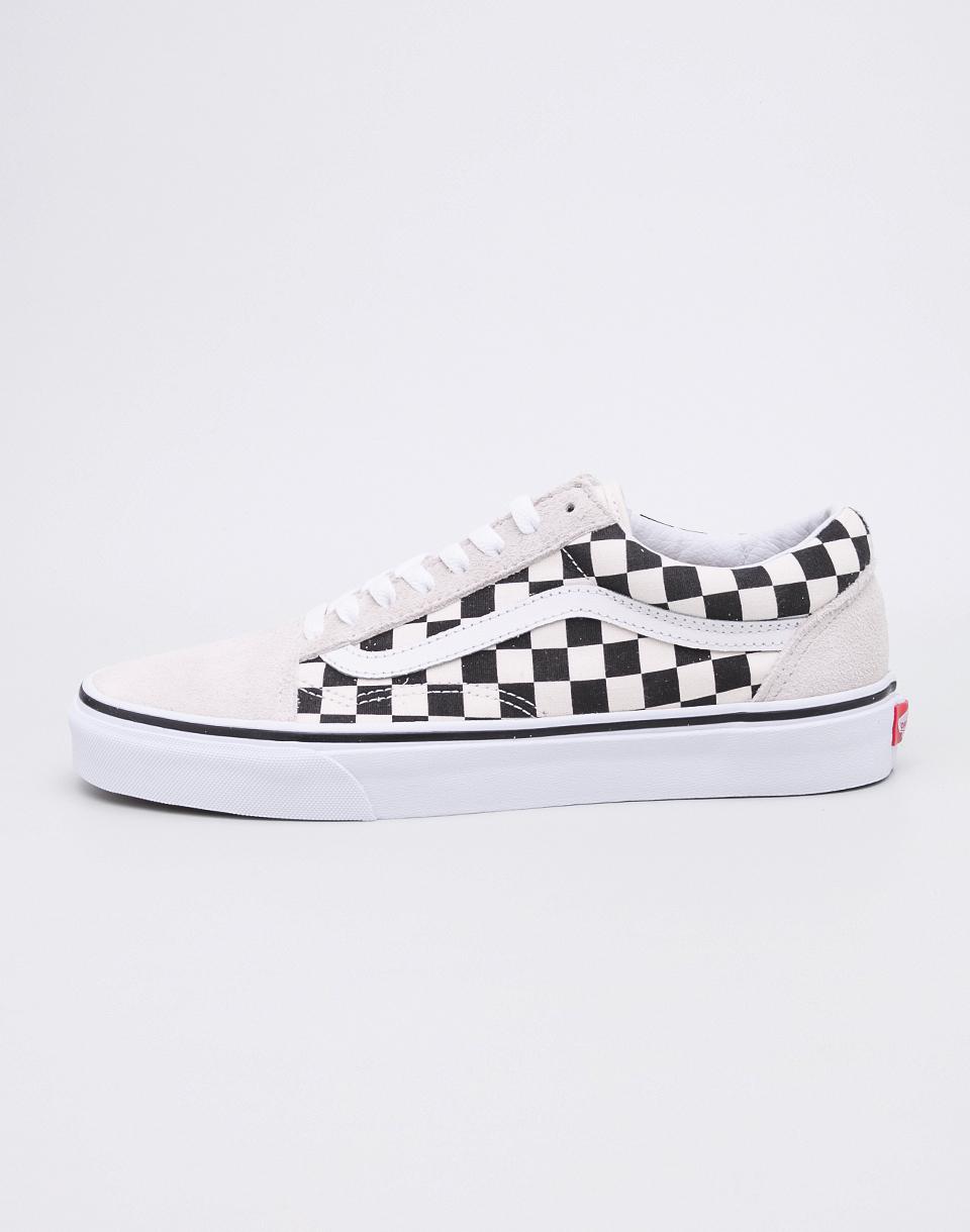 Vans Old Skool (Checkerboard) White/Black 44