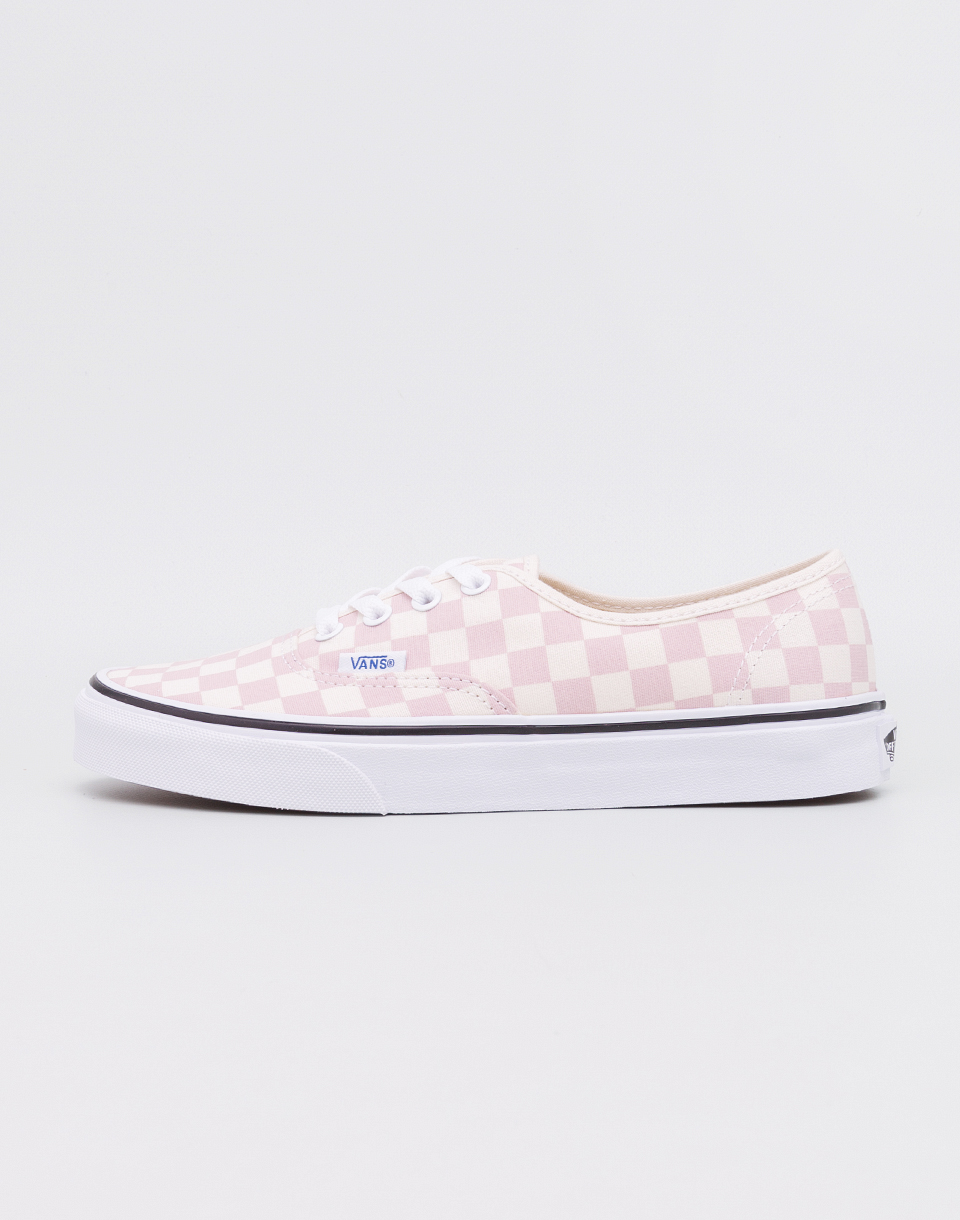 Vans Authentic (Checkerboard) Chalk Pink Classic White 40 5