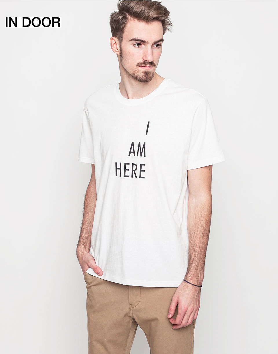 Triko Art of Scribble I'm here Off White (WH) M