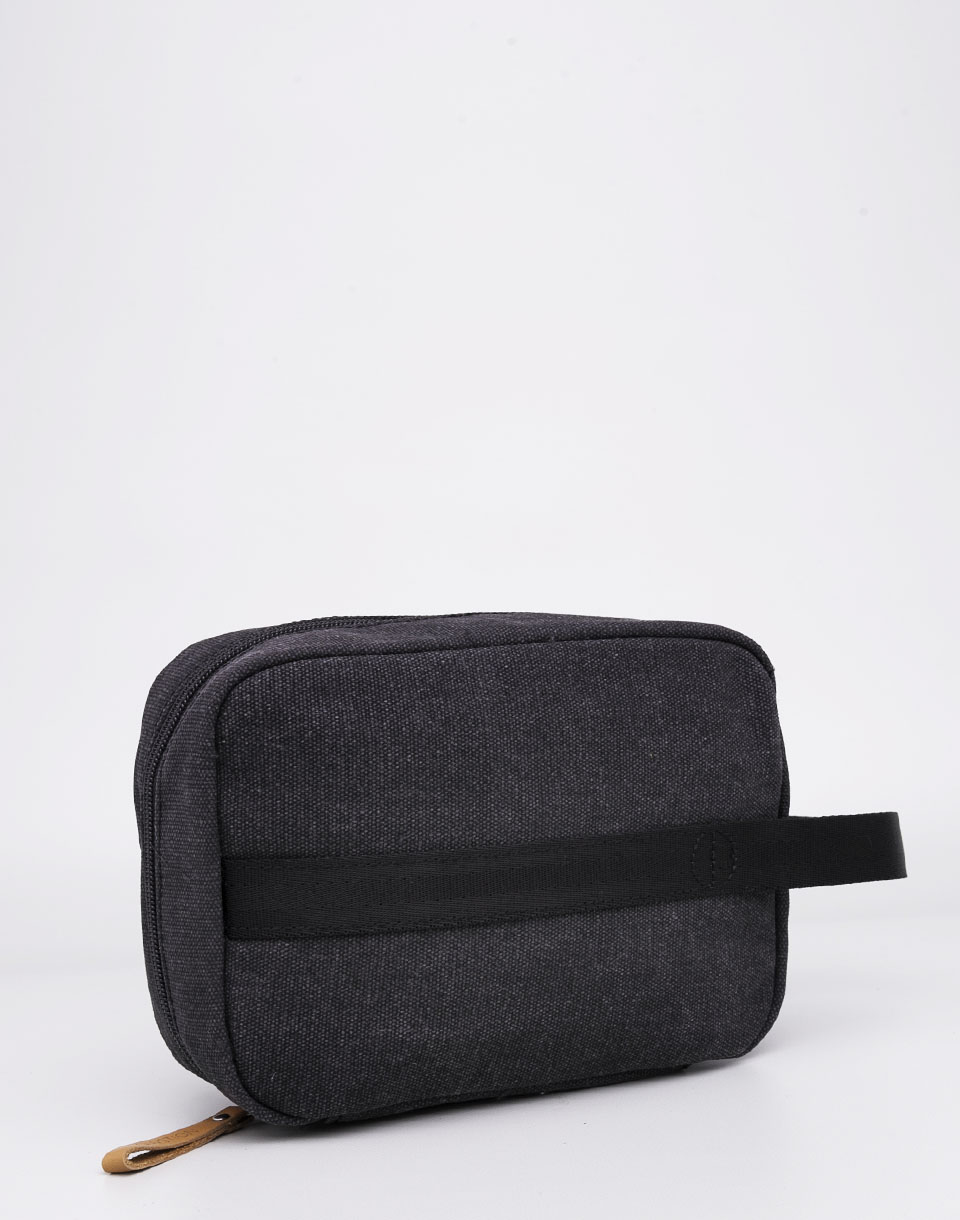 QWSTION Toiletry Kit Washed Black