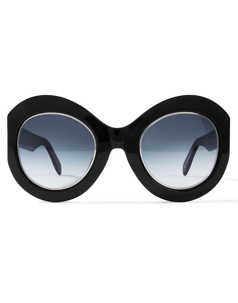 Sluneční brýle Zanzan Le Tabou Black - MR Blue Gradient + doprava zdarma