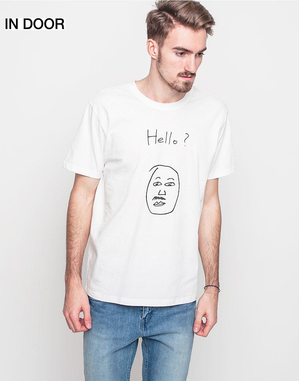 Triko Art of Scribble Hello Off White (WH) L