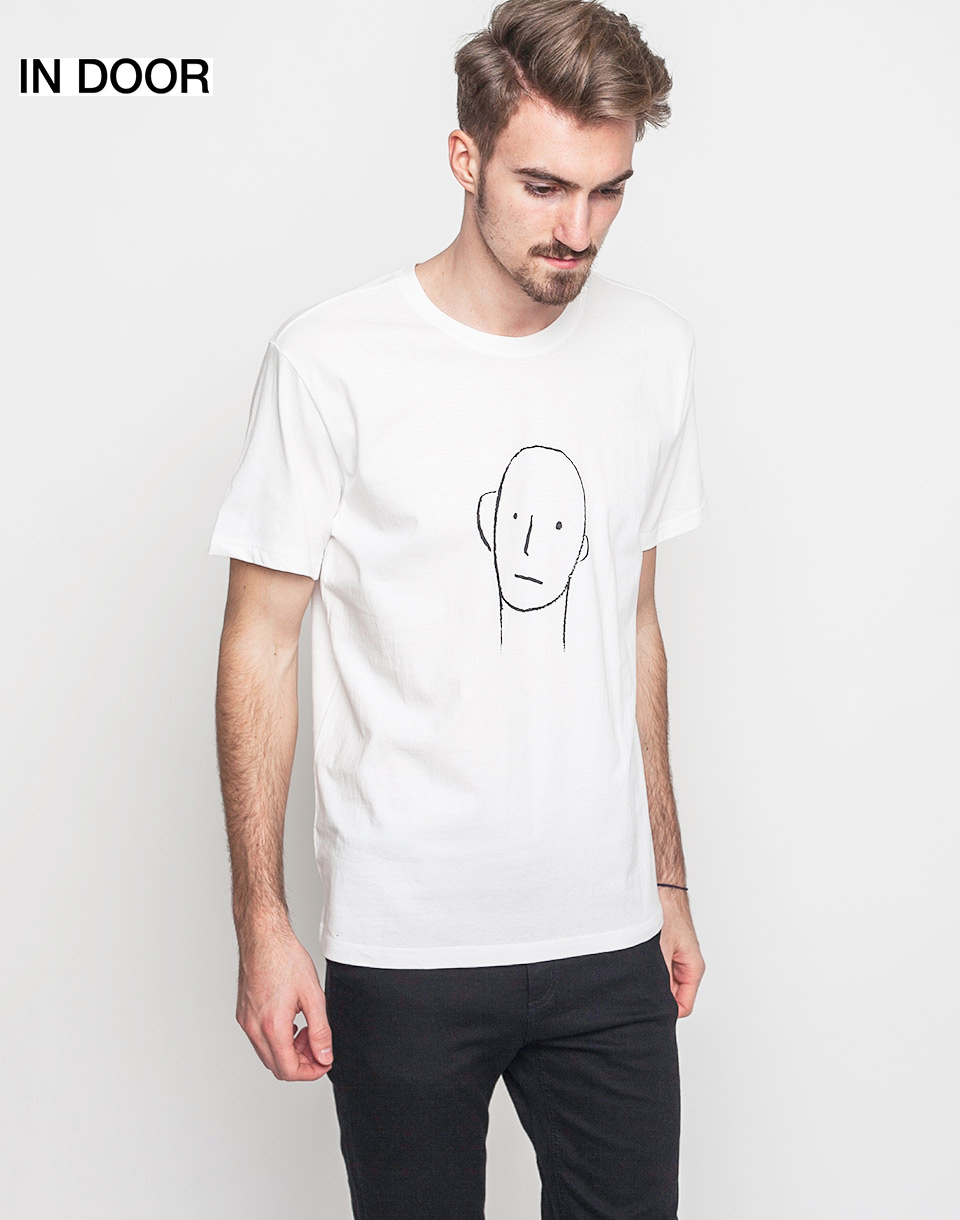 Triko Art of Scribble Go In And Out The Other Off White (WH) L