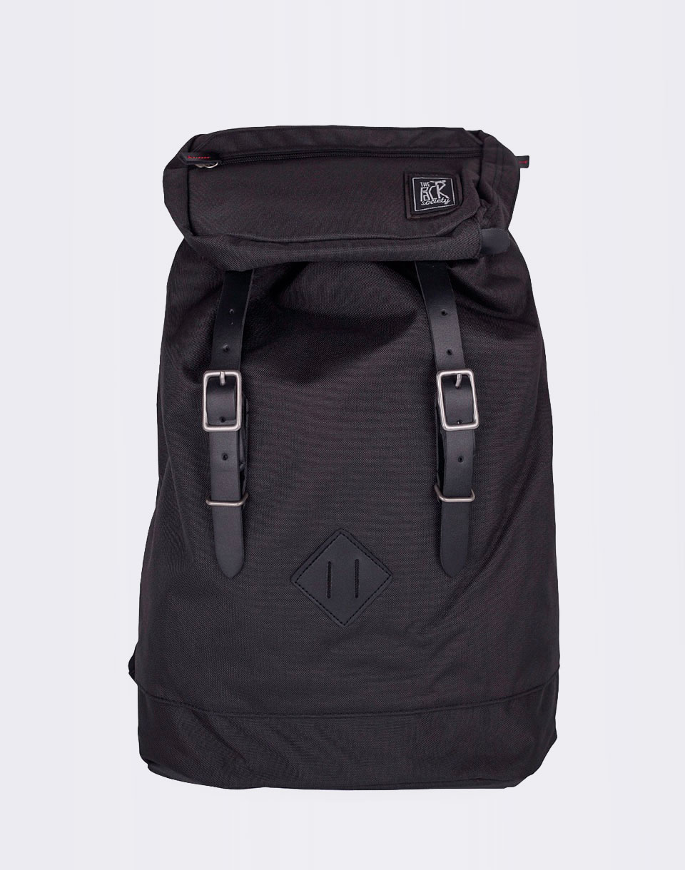 The Pack Society Premium Recycled Black Fabric