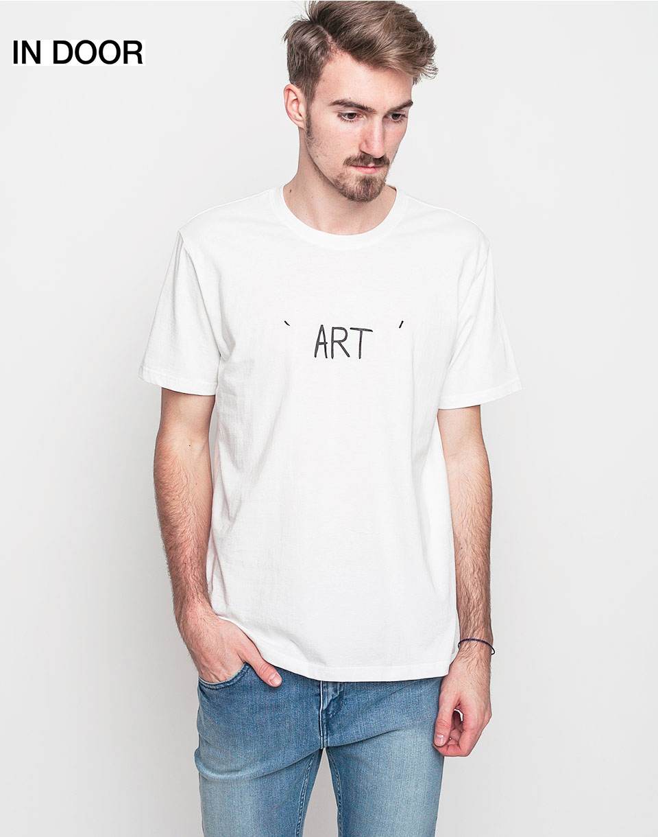Triko Art of Scribble Earth Off White (WH) M