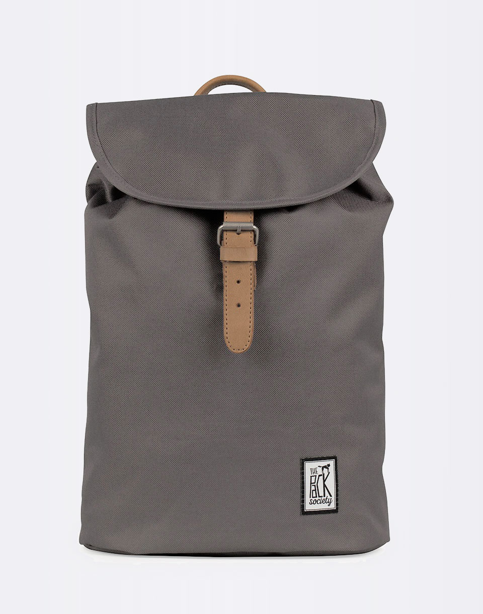 The Pack Society Small Solid Charcoal 10l