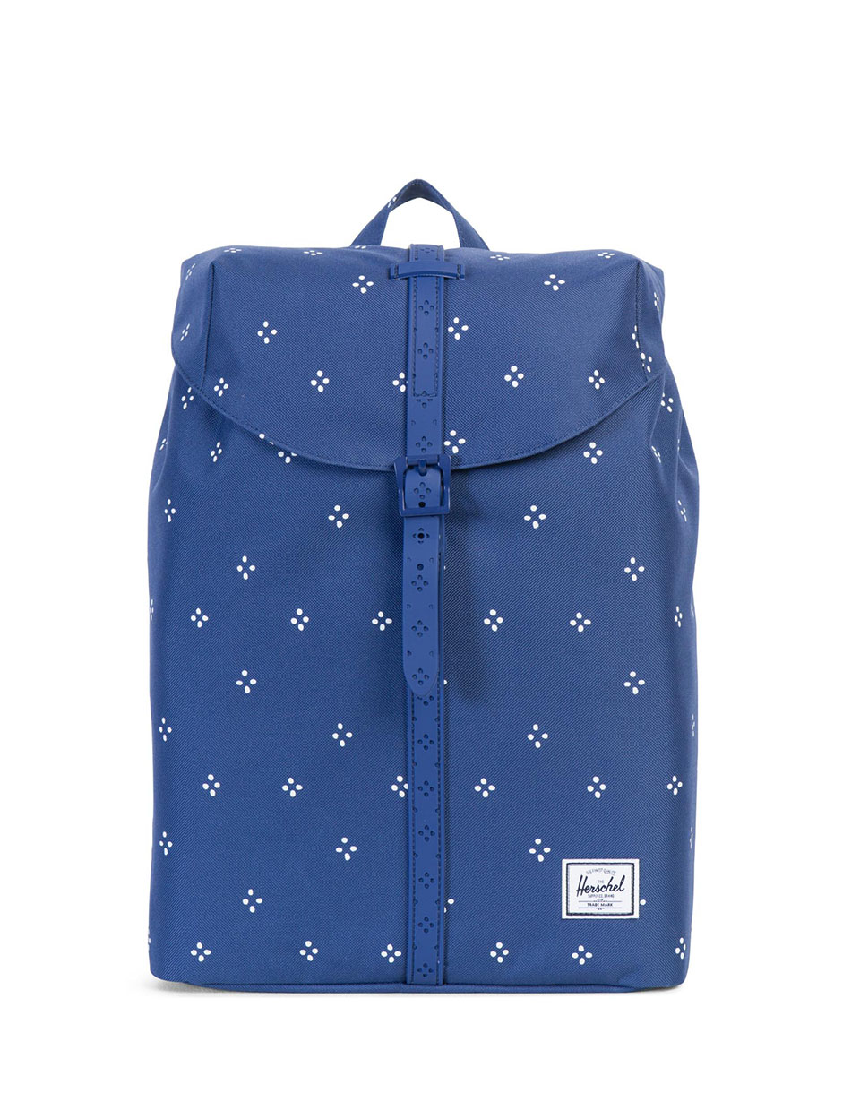 Batoh Herschel Supply Post Mid-Volume Focus / Twilight Blue Rubber + doprava zdarma