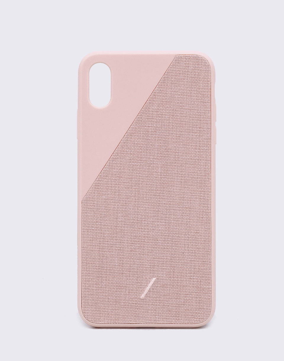 Native Union Clic Canvas iPhone XS Max Rose