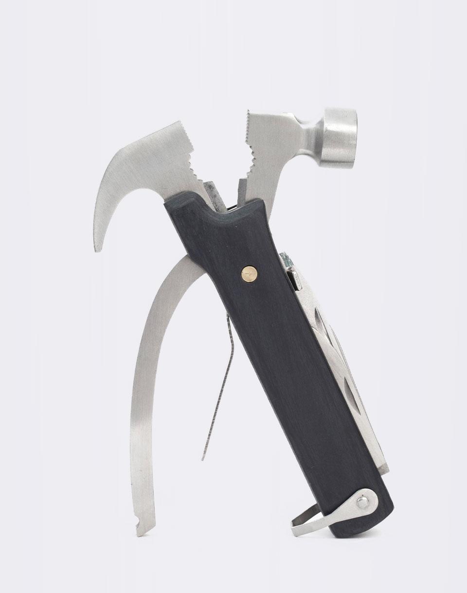 Nářadí Kikkerland Wood Multi-FXN Hammer Tool Černá + novinka