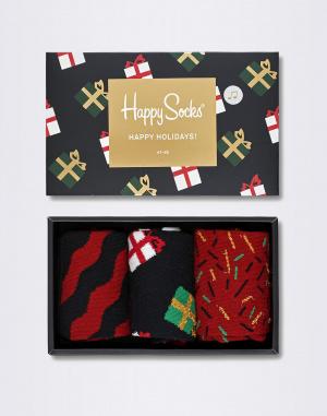 Ponožky - Happy Socks - Singing Holiday Socks Gift Box