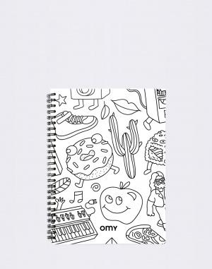 Do kanceláře OMY Spirale Sketch Book