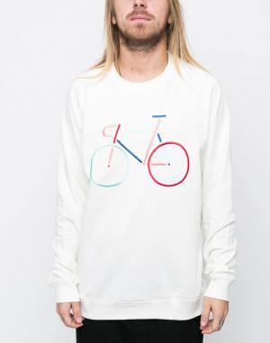 Mikina - Dedicated  - Bike Embroidery