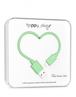 Happy Plugs - Lightning to USB Charge/Sync Cable(2...