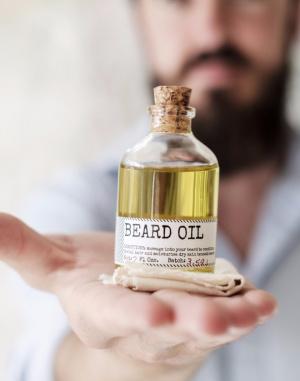 Kosmetika - Men's Society - Beard Oil & Face Rag 50ml