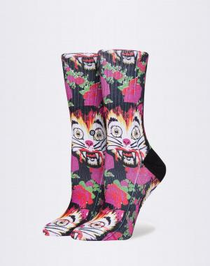 Ponožky - Stance - Libertine Cat Man Do High Boy
