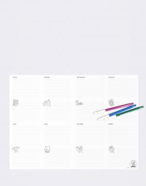 Do kanceláře OMY Coloring Pocket Map - Switzerland