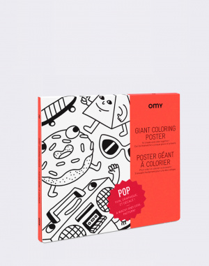OMY - Giant Coloring Poster - Pop