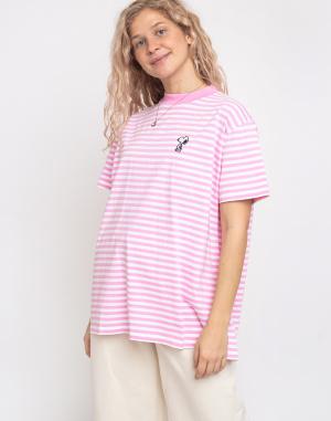 Triko Lazy Oaf Lazy Oaf x Peanuts Stripy Snoopy T-shirt