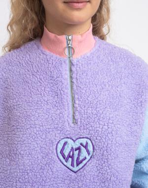Lazy Oaf - Pastel Panel Colour Block Fleece