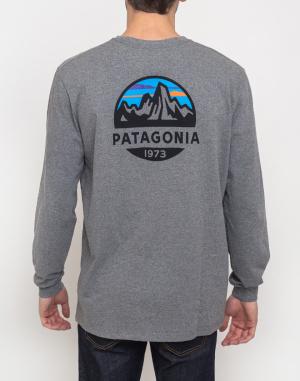 Triko Patagonia L/S Fitz Roy Scope Responsibili-Tee