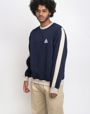 North Hill - Colorblock Crewneck Fleece