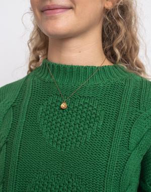 Lazy Oaf - Big Green Cable Knit Jumper