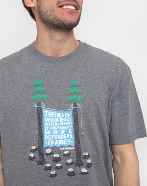 Trika s potiskem Patagonia Treesitters Responsibili-Tee