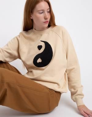 Mikina Thinking MU Yin Yang Sweatshirt